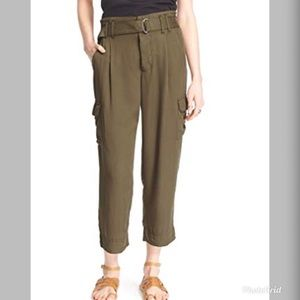 Free People Summers Over Belted Cargo Pants